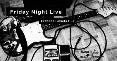 Friday Night Live - Kråkön + Tommy Rönnlund Band INSTÄLLT